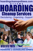 HOARDING CLEAN UP. Systematic, Compassionate, AFFORDABLE!