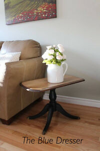 Farmhouse style side table