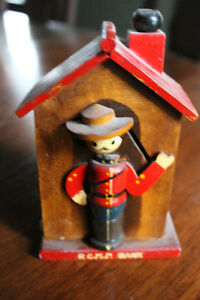 VINTAGE CANADIAN MOUNTIE BANK RCMP