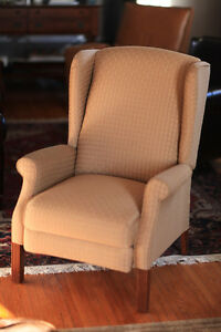 Reclining Wing-Back chair