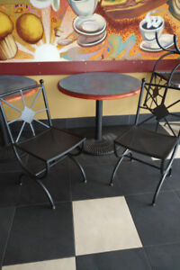 Rest. Equip-Hot Water , coffee brewers, tables/chairs, Lite up M