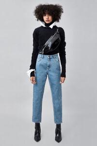 Zara Authentic Fit Denim Mom Jeans - Size EUR 34/US 2