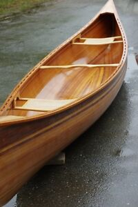 Cedar strip canoe NEW