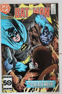 C Comics Batman#387 2nd Black Mask! comic book