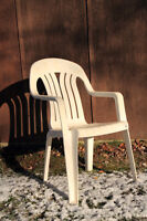 PATIO CHAIRS -4PCS