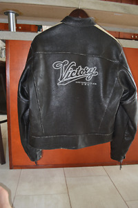 Victory Flat Track Leather Jacket
