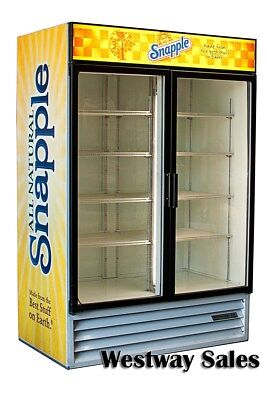 Beverage Air Mt-49 Swing 2 Door Commercial Display Refrigerator Merchandiser