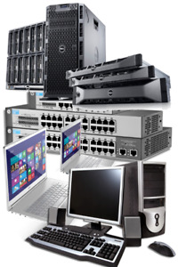 Old Computers, Laptop, Servers