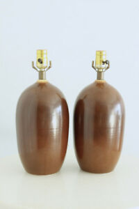 Pair of Vintage Mid Century Lotte Lamps