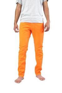 8542ff01e4ea4d Orange jeans mens