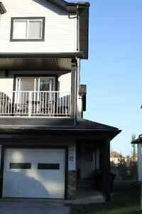 Sherwood Park 2 Bed End Unit Townhome Backing Ravine