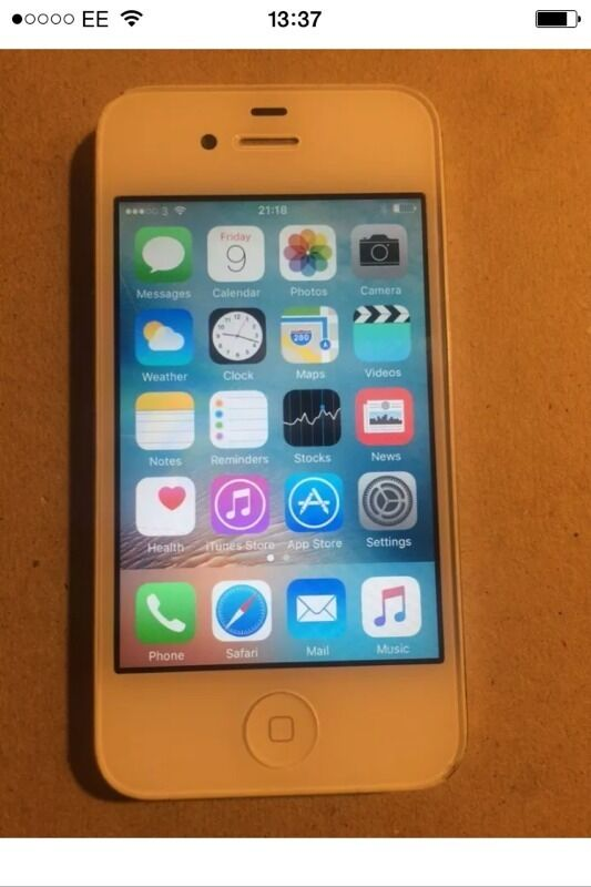 iPhone. 4 8gb unlocked whitein Barking, LondonGumtree - This is a very lovely condition white iPhone which comes with a USB cable only has been unlocked to all network grab a bargain 40 pound first to see will buy last price pick up from barking near station thanks