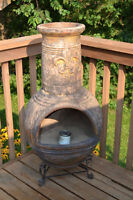 Clay Chimnea