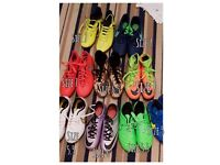 Football boots (various sizes)