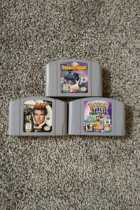 N64 games. Prices in ad