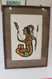 Goyce Kakegamic One of the First Woodland Artists