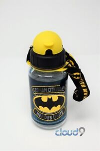Brand new Batman Small Water Bottle with Built in Straw