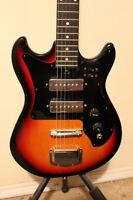 FT/FS Rare Vintage Electric Guitar All Original Good Condition
