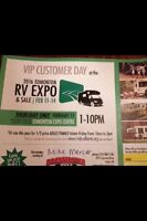 Unlimited Free RV Show Tickets