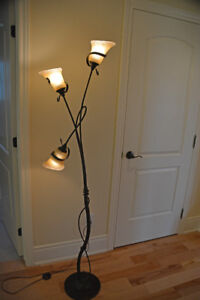 Lampe sur pied 3 lumières style Méditerranéen