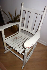 Chaise berceuse - Rocking Chair