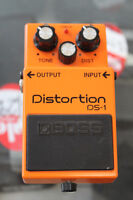 Boss Distortion DS-1 Pedal Winnipeg Manitoba Preview