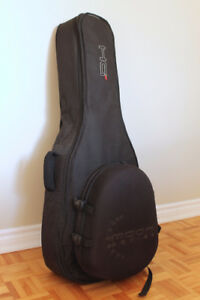 sac de transport guitare semi-rigide