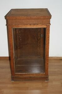 Oak display case