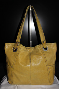 Authentic Leather Fossil Tote