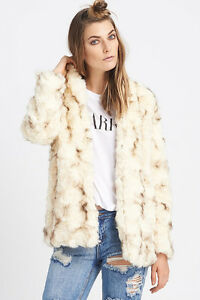 Fur jacket from envy clothing store heartloom brand name