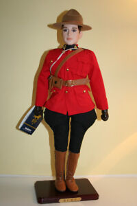 RCMP LIMITED EDITION PORCELAIN DOLL