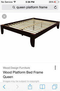 LOOKING FOR QUEEN PLATFORM FRAME