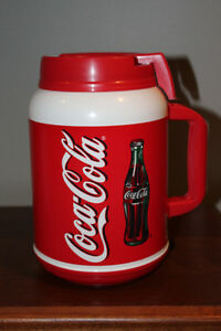 2001 VERY LARGE Coca-Cola Drink Holder - NEVER USED -REDUCED