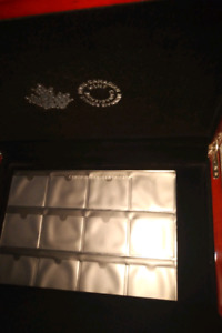Royal Canadian Mint Coin Collection Case