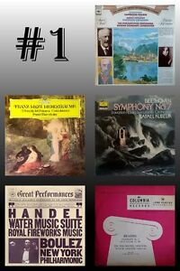 CLASSICAL MASTERPIECES on VINYL
