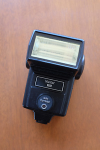 Vivitar 283 Electronic Flash Auto Thyristor
