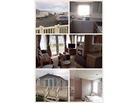 Primrose valley Luxury 6 berth caravan for hire 27th August