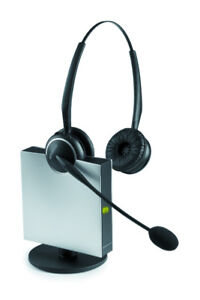 Jabra Wireless GN 9120 Duo Flex Boom NC Mic