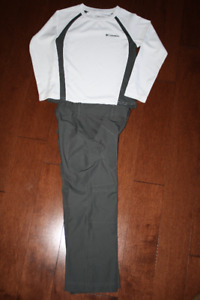 Columbia Dri Fit Style Shirt and Pant Outfit - XXS 4-5