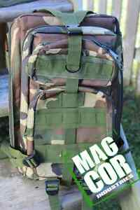 Military style ruck sac