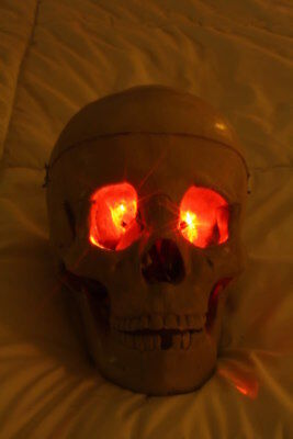 Halloween Corpse Costumes (Red LED Eyes Halloween prop use for corpse monster ghost jawa costumes and)