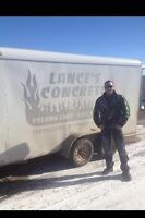 Lance'sconcrete over 20 years experience