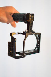 SmallRig Camera Cage Kit for Sony Alpha 6500 with Top Handle