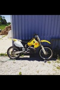 RM 250 trade for 4-stroke or snowmobile