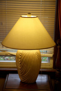 Vintage Style White Table Lamp