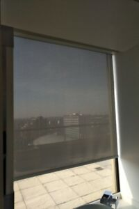 Roller Blind - Manual, Grey, Translucent, 2 Sizes Available