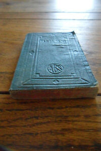 Antique 1880 bible