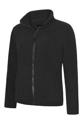 Unisex Full Zip Micro Fleece Jacket Casual Work Wear Top Cycling Sports Lesiure Full Zip Fleece Top