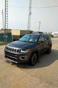 2018 JEEP COMPASS LIMITED only 3498 KM !!!! SAVE