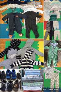 Boys 3-6 month clothing - lots never worn!!